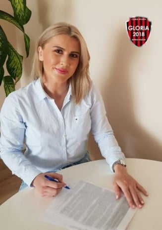 Raluca Bacaoanu, pivotul echipei nationale, vine la Gloria 2018 BN!