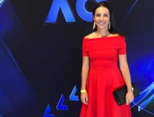 Raluca Olaru a intors toate privirile la petrecerea jucatoarelor de la Australian Open