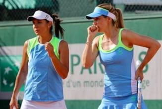 Raluca Olaru a produs o mare surpriza la Roland Garros in proba de dublu