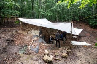 Ramasitele a noua oameni de Neanderthal, descoperite intr-o pestera din apropiere de Roma