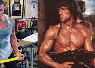 Rambo 5 intra in productie: Cum se antreneaza Stallone pentru revenirea in jungla