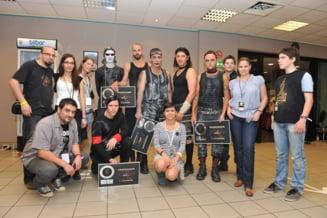 Rammstein au primit Discul de Platina inainte de concertul din Romania