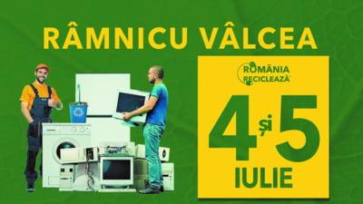 Ramnicu Valcea participa la campania Romania Recicleaza pe 4 si 5 iulie