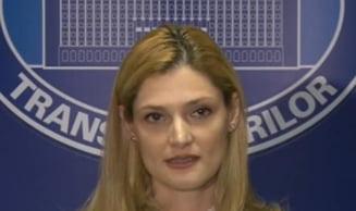 Ramona Manescu acuza: Am primit amenintari la Ministerul Transporturilor