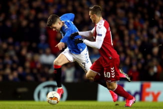 Rangers s-a calificat in optimile Europa League: Iata cum a jucat Ianis Hagi (Video)