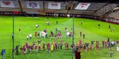 Rapid Bucuresti a promovat in Liga 3 dupa un retur castigat cu 10-1