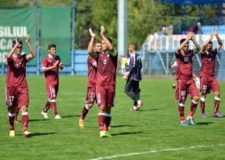 Rapid Bucuresti pierde in ultima etapa de Liga 2 din 2013