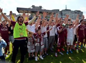 Rapid a fost exclusa din Liga 1 - oficial