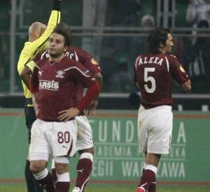 Rapid a pierdut la Varsovia si este eliminata din Europa League!