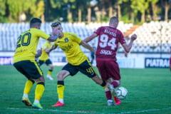 Rapid este lider in Liga 2, dupa ce a castigat fara emotii la Slatina