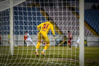 Rapidul, tot mai departe de promovarea in Liga 1. Giulestenii au pierdut la Slobozia si sunt in afara play-off-ului