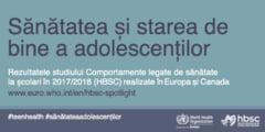 Raport OMS privind sanatatea copiilor din Romania - exista si vesti bune