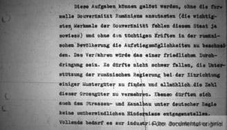 Raport german din 4 noiembrie 1940. Romania, o colonie furnizoare de materii prime si forta de munca?!