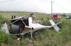 Raport preliminar AIAS. Cum s-a prabusit un avion care incerca sa decoleze de pe o pista de langa Alba Iulia