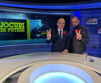 Rares Bogdan, suspendat de la Realitatea TV prin SMS