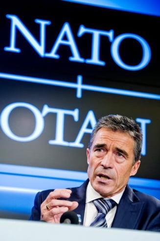 Rasmussen: NATO nu intentioneaza sa atace Iranul