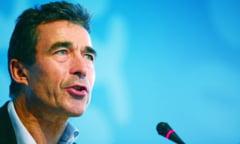 Rasmussen: Rusia nu da semne sa isi respecte angajamentul cu privire la Ucraina