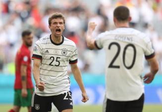 Rasturnare incredibila de scor in cel mai frumos meci de la EURO 2020. Cat s-a terminat Portugalia - Germania
