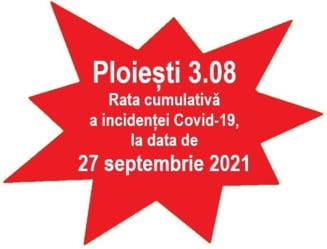 Rata incidentei in Ploiesti a crescut la 3,08 la mia de locuitori. Urmeaza noi restrictii: certificatul Covid devine obligatoriu pentru mai multe activitati