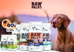 Raw Paleo, hrana superpremium pentru caini. Cum contribuie cainii la sanatatea si fericirea noastra?