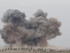 Razboi in Siria: Loviturile Rusiei au distrus depozite de arme ale rebelilor antrenati de SUA