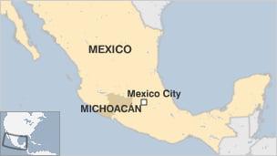 Razboi sangeros in Mexic: Peste 22 de morti dupa lupte cu Politia