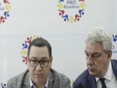 Razboi total in Pro Romania. Mihai Tudose ii da replica lui Victor Ponta