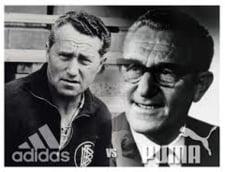 Razboiul dintre doi frati a nascut doua dintre cele mai mari branduri din lume: Adidas vs Puma