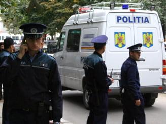 Razie la Targu Jiu: Comerciantii au lasat marfa si au fugit