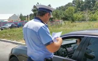 Razie pe drumurile României. Au fost date zeci de mii de amenzi și reținute sute de permise VIDEO-FOTO