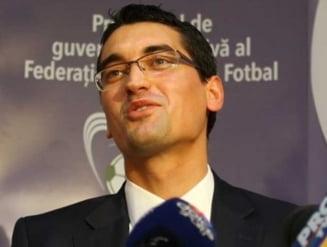 Razvan Burleanu, lovit de un scandal monstru la FRF