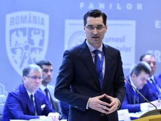 Razvan Burleanu a castigat un nou mandat in fruntea FRF