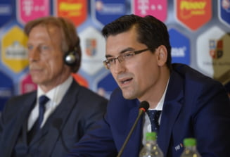 Razvan Burleanu se spala pe maini de demiterea lui Daum: Cine decide acum soarta selectionerului