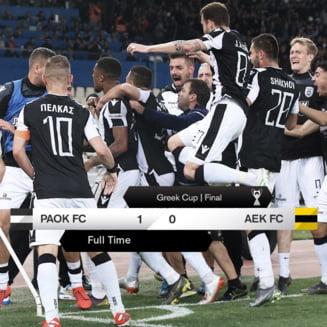 Razvan Lucescu a facut eventul in Grecia cu PAOK Salonic