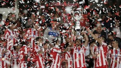 Razvan Lucescu a fost invins in finala Cupei Greciei