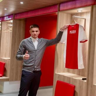 Razvan Marin, primit ca un superstar la Ajax: Cum a decurs cea mai importanta zi din viata sa (Video)