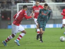 Razvan Marin primeste inca o serie de critici in Olanda, desi nu mai joaca la Ajax din ianuarie
