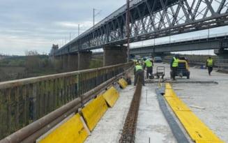 Reabilitarea podului de la Cernavoda, in grafic. Lucrarile se incheie peste 2 ani