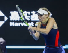 Reactia Carolinei Wozniacki dupa calificarea in finala la Beijing