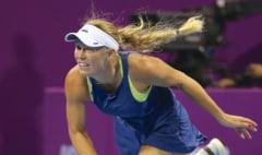 Reactia Carolinei Wozniacki dupa ce a aflat de retragerea Simonei Halep de la Doha