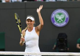 Reactia Carolinei Wozniacki dupa eliminarea de la Wimbledon