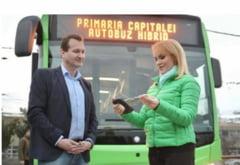 """Reactia Gabrielei Firea dupa ce Nicusor Dan a anuntat ca da jos inscriptia cu """"Primaria Capitalei"""" de pe autobuze: """"Il deranjeaza ca pe autobuze scrie ca sunt achizitionate in 2018"""""""