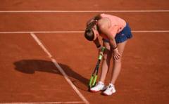 Reactia Jelenei Ostapenko dupa eliminarea de la Roland Garros