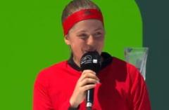 Reactia Jelenei Ostapenko dupa finala pierduta la Miami