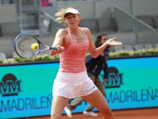 Reactia Mariei Sharapova dupa eliminarea de la Madrid