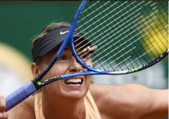 Reactia Mariei Sharapova dupa eliminarea suferita la Madrid