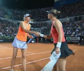Reactia Mariei Sharapova dupa retragerea de la Roma