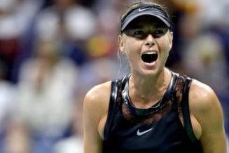 Reactia Mariei Sharapova dupa victoria in fata Simonei Halep de la US Open
