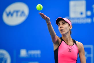 Reactia Mihaelei Buzarnescu dupa prima finala WTA jucata in cariera