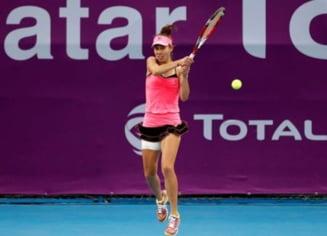 Reactia Mihaelei Buzarnescu dupa victoria formidabila cu Jelena Ostapenko